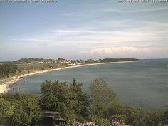 Webcam von Klein Zicker Richtung Thiessow Insel Rügen, germany Wakeboard, Beach, Outdoor, Water Sports, Island, Nature, Outdoors, Seaside, The Great Outdoors