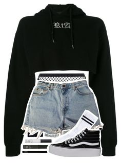 """KNOW ME"" by girimadboy ❤ liked on Polyvore featuring RtA, NARS Cosmetics, Agent Provocateur, Levi's, Pieces and Vans"