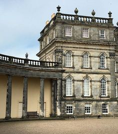 Hopetoun, Palladian style 18th Century architecture in Britain by architect, William Bruce, later altered by William Adam.
