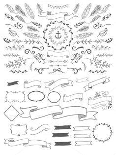 https://creativemarket.com/Nickylaatz/33025-HandSketched-Vector-Elements-Pack