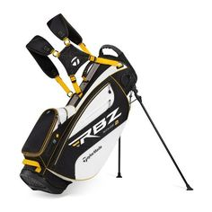 TaylorMade Triton Stand Bag, White/Gray/Black/Gold. Details at http://youzones.com/taylormade-triton-stand-bag-whitegrayblackgold/