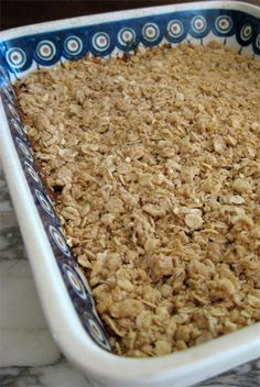 Apple Crisp with Homemade canned filling