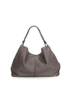 84687b190854fb Bottega Veneta Cervo Large Shoulder Bag