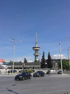 Θεσσαλονίκη - πύργος του ΟΤΕ → Keerpunt na terugkomst uit Ipiros.