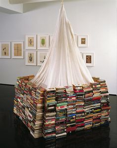 Book Fort (2007) by Dash Snow.