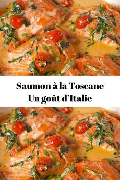 Saumon à la Toscane Un goût d'Italie – Page 2 – Recettes Du Monde Healthy Dinners For Two, Healthy Chicken Dinner, Healthy Recipes, Vegan Junk Food, Best Dinner Recipes, Batch Cooking, Casserole Recipes, Chicken Recipes, Food And Drink