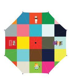 Alice in Wonderland umbrella  Design by Elizabeth Soo,2015
