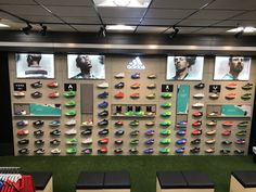 Timberland Store, Shoe Store Design, Tennis Store, Shoe Wall, Sign Board Design, Soccer Shop, Shoe Display, Retail Merchandising, Shop Front Design