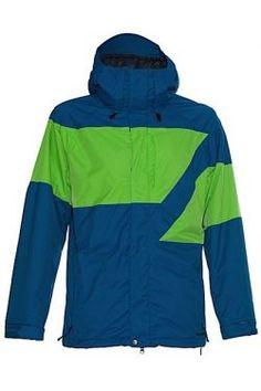 Veste & Pantalon Homme Snow :: Volcom Atlantic Pacific Jacket Blue Size Medium Prix 159.00chfrs