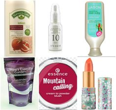 Cruelty-Free Fall Favourites:  Nature's Gate Pomegranate Sunflower lotion, It's Skin Power 10 Formula WH Effector with Arbutin, Jason Soothing Sea Kelp conditioner, Nature's Essential Garden Lavender bath salts, Essence Mountain Calling Cream to Powder blush, and Tarte Amazonian Butter lipstick in Coral Blossom…