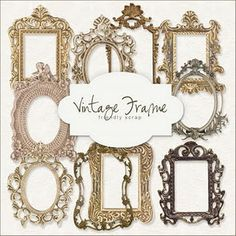 Freebies Vintage Frames Kit