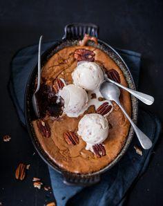 Pecan & praliné brownie