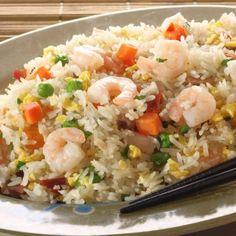 Slow Cooker Shrimp Fried Rice