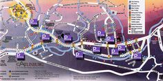 Gatlinburg Tennessee Attractions | Gatlinburg Attractions Parking Map