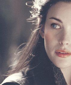 Arwen, daughter of Celebrian, daughter of Galadriel