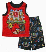 Angry Birds Boys Pajama Set Boys Sleepwear, Cotton Sleepwear, Boys Pajamas, Angry Birds, Big Boys, Toddler Boys, Pajama Set, Size 14, Infant