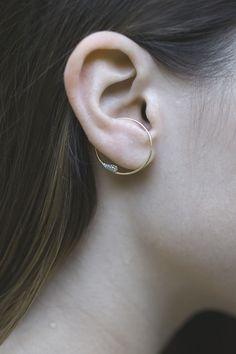 Breathe | Cuff Earring - Rallou Jewellery
