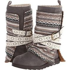 MUK LUKS Pretty sure soon my whole closet will be filled with Muk Luks. These boots are incredible.