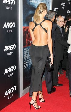 Stacy Keibler in Alaia, Argo premiere.