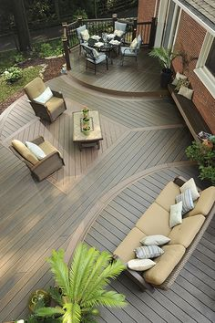 Timbertech.com has all types of tools to help design your Composite or PVC dream #deck.