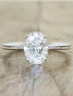 Oval Engagement Rings by Ken & Dana Design