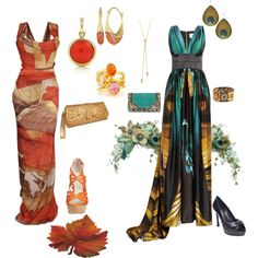 """""""True Autumn Soft Dramatic Evening"""" by sensualbohemian on Polyvore"""