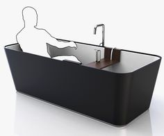 The Bathe is a very well thought-out and planned bathtub design. It has accessories and attachments that can be customized as per each family member's requirements Sky Design, House Design, Reece Bathroom, Bathtub Shelf, Modern Bathtub, Screwdriver Set, Shower Systems, Well Thought Out, Very Well