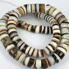 German made glass / agate beads, antique African.