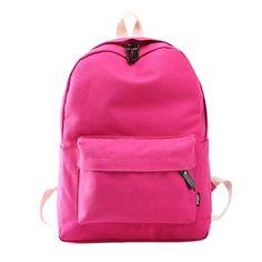 Flama 2016 Girl Simple Women Backpacks Traveling Pratical School Bags Unique Fashion Canvas Backpack Preppy Style Mochila