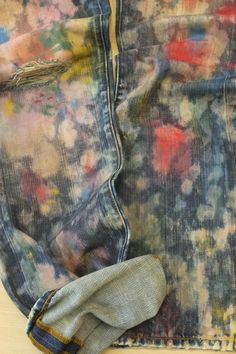 Vintage utility looks get a rainbow makeover with this artisan hand-painted denim by Cali's L Industries. Artisan Vintage is just one...