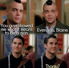 Even you Blaine ❤️