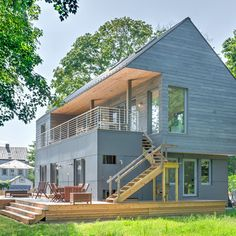 Installing These Earth-Friendly Features Could Save You $3,645 a Year Architect House, Architect Design, Air Conditioning Units, Passive House, Ventilation System, Windows And Doors, Home Projects, Lighting Design, Exterior