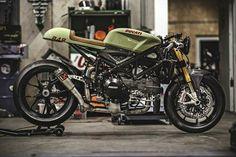 Ducati 848 cafe racer // #harleydavidsoncaferacer