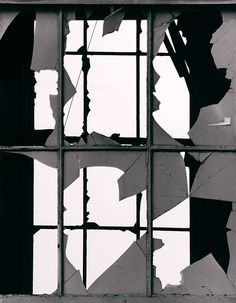 Brett Weston (American, 1911-1993)  Broken Window  ca. 1970  Gelatin silver print  Unframed: 11 x 14 inches (27.94 x 35.56 cm)  Gift from the Christian K. Keesee Collection  ©The Brett Weston Archive