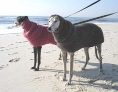 Quick & Easy Greyhound Dog Sweater--dont know if it is crochetbut good insp
