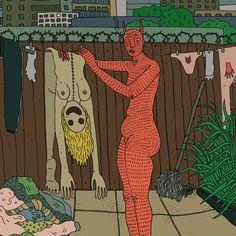 Los demonios femeninos son representados en las ilustraciones de Polly Nor - Creators