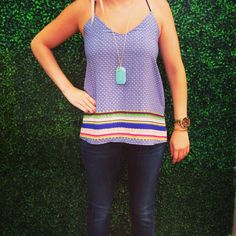 Who's ready for summer? This is the perfect top for summer!