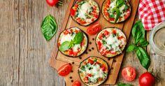 Recette de Tartines light d'aubergine tomate et mozza sans vaisselle. Facile et rapide à réaliser, goûteuse et diététique.