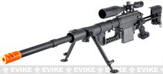 Beta Project M200 Intervention Full Metal Bolt Action Sniper Rifle (Black)