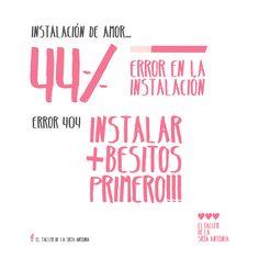 Instalando programa #love ❤ #masbesitos #masamor #eltallerdelasrtantonia By El taller de la Srta Antonia