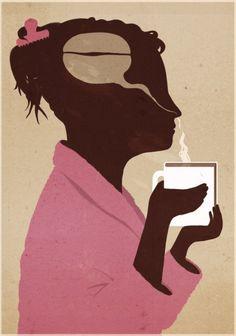 La lectura activa las neuronas (ilustración de Emiliano Ponzi)
