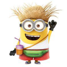 The Minions - Dave Vacation Minion Smile, Minion Rock, Minion Dave, Cute Minions, Minions Despicable Me, Minions 2014, Minion Banana, Minion Humour, Minion Characters