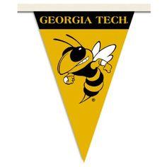 Georgia Tech Party Pennant Flags/Banner $16.32