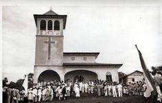 Iglesia de Santiago de Baney (1.953) inauguración