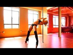 Body Wave Descent Pole Dance Tutorial - Alethea Austin - YouTube