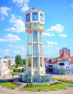Siofok-the city close to Balaton lake, Hungary