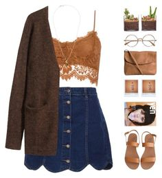 """""""Xia"""" by chelseapetrillo ❤ liked on Polyvore featuring Ancient Greek Sandals, Pieces, Shop Succulents, H&M, Polaroid, Tina Lilienthal, country, women's clothing, women and female"""