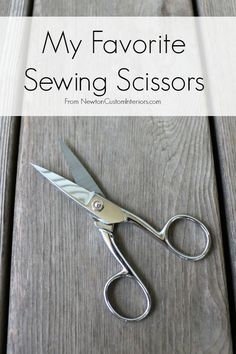 Every sewer has favorite sewind scissors. Learn what my 5 favorite sewing scissors are, and what special job each of them has.