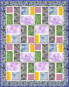 Modern City Blocks Quilt | | Lyn Brown's Quilting BlogLyn Brown's Quilting Blog