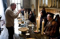 """22 Awesome Behind-The-Scenes """"Harry Potter"""" Photos You've Probably Never Seen Before Snape Harry Potter, Harry Potter Actors, Harry Potter Love, Harry Potter Universal, Harry Potter World, Alan Rickman Movies, Alan Rickman Severus Snape, Draco Malfoy, Hermione"""